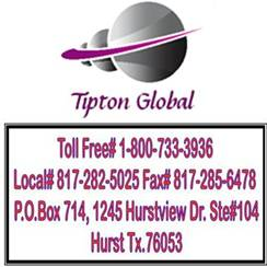 Tipton Global Sales and Services Inc